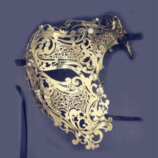Masque 21, filigraan masker van metaal