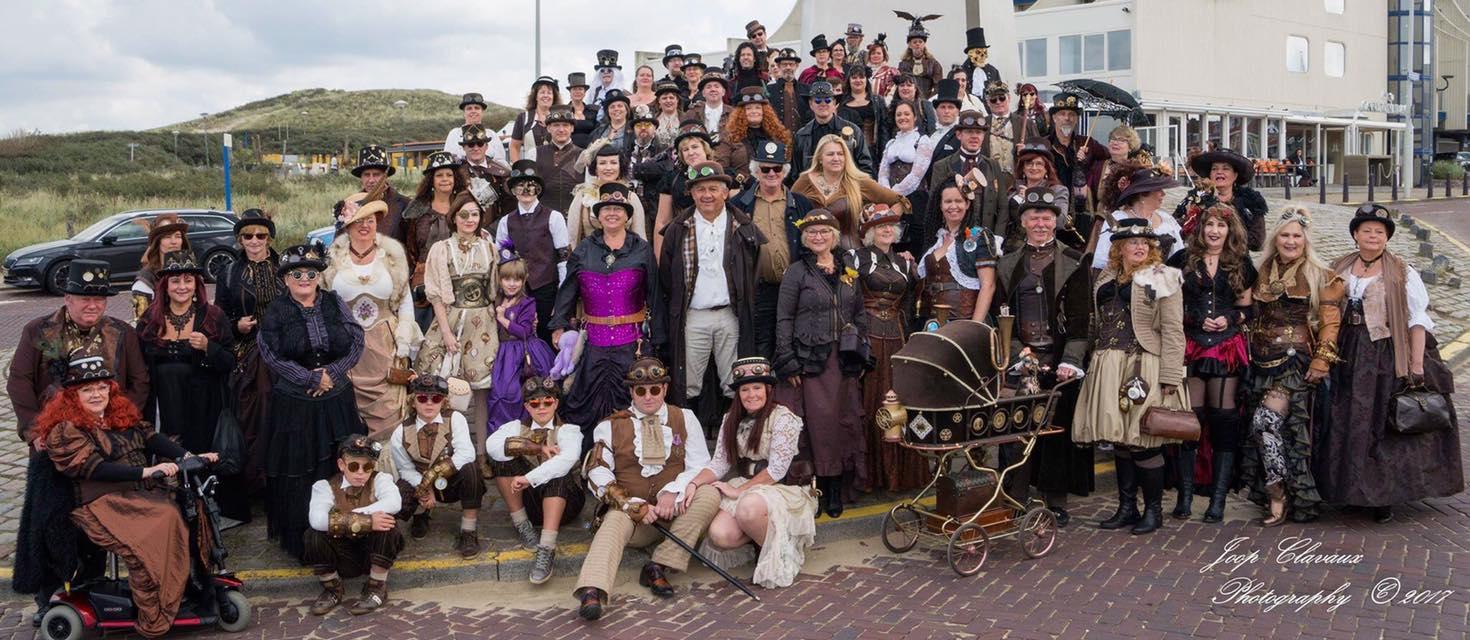 Steampunk Evenementen in Nederland, Duitsland en België