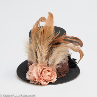 Steampunk mini-hoge-hoed Aranka