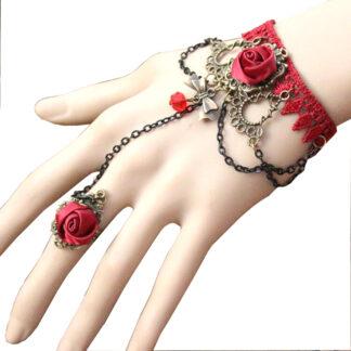 Steampunk armband 6