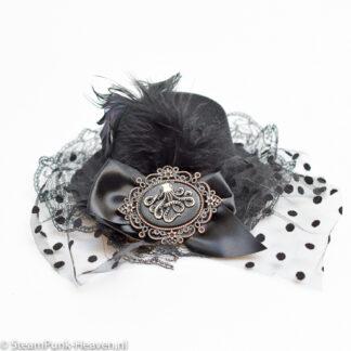 Steampunk mini hoed Grisold