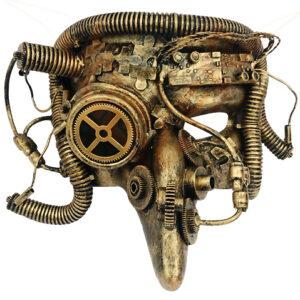 Steampunk masker Pest Meester Luuk