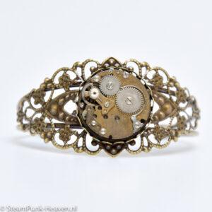 Steampunk armband 125