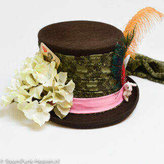 Steampunk hoed Madhatter