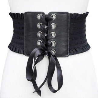 Steampunk korset riem Lilly