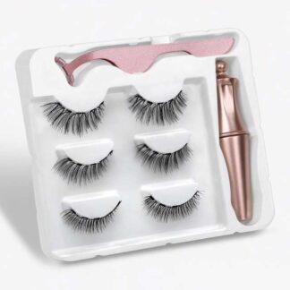 Steampunk magnetische wimpers en eyeliner kit Brianna