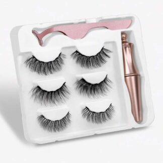Steampunk magnetische wimpers en eyeliner kit Brooke