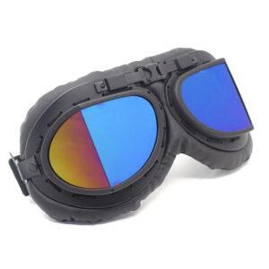 Steampunk piloten goggles 22