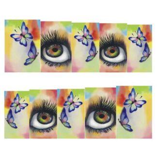 Steampunk nail art stickers Luciana