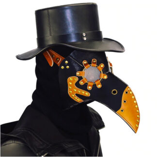 Steampunk masker Pest Meester Thor