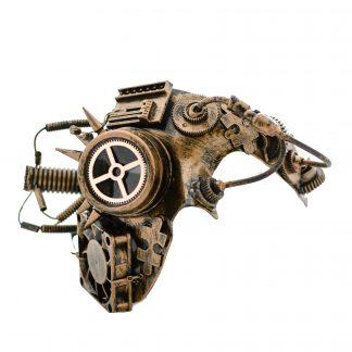 Steampunk halfmasker Kaspar