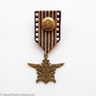 Steampunk medaille Lindberg