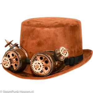 Steampunk hoed Anders
