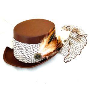Steampunk hoed Delea