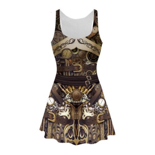 Steampunk jurk Susannah