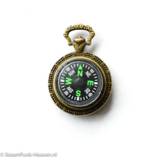 Steampunk kettinghanger 3D kompas