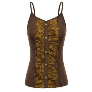 Steampunk shirt Arletta