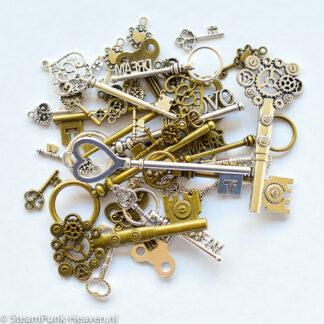 Steampunk MEGA sleutel-set 7