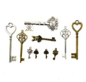 Steampunk sleutels 7