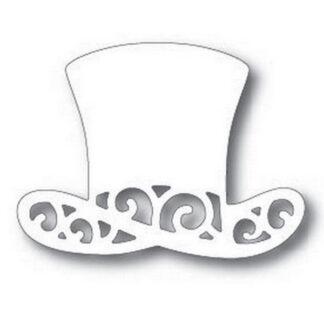 Steampunk stencil hoge hoed