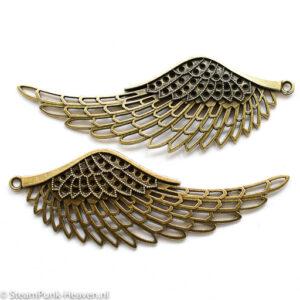 Steampunk grote vleugel-set