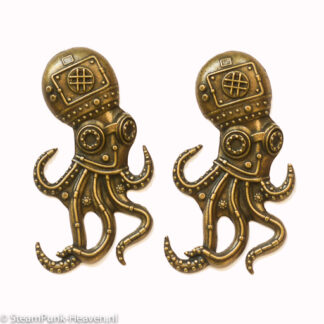 Steampunk octopus Franklin