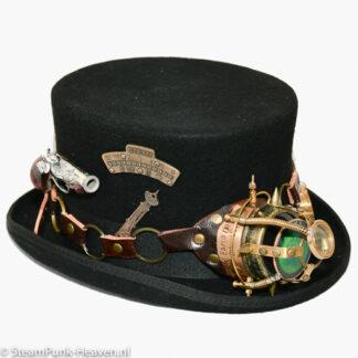 Steampunk hoed Adalbert