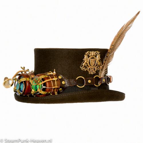 Steampunk hoed Heiko