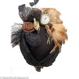 Steampunk hoed Hanneke