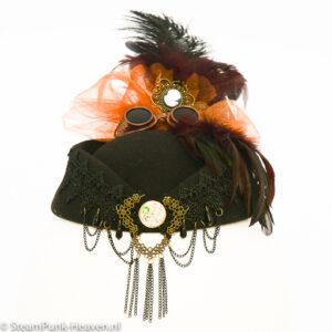 Steampunk hoed Johanna
