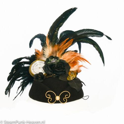Steampunk hoed Vlindertje