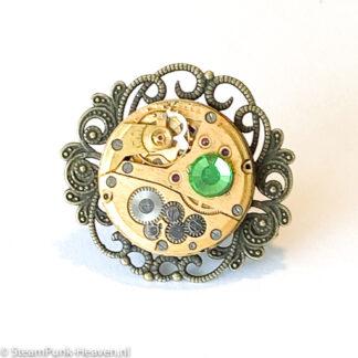 Steampunk ring 27
