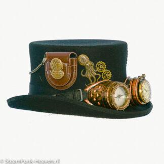 Steampunk hoed Hinrich
