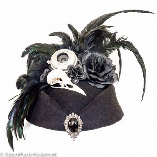 Steampunk hoed Luzifer