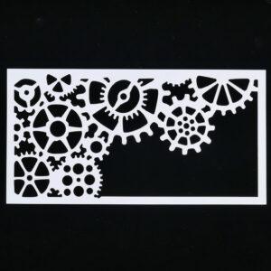 Steampunk stencil Tennessee