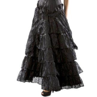 Steampunk dames rok Della