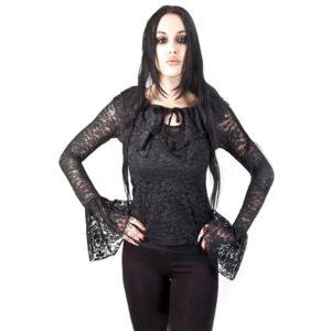 Steampunk kanten shirt Thea