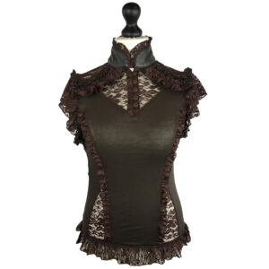 Steampunk blouse Maggie