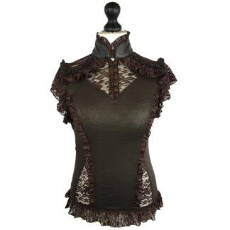 Steampunk blouse Maggie