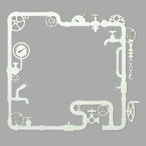 Steampunk stencil buizen