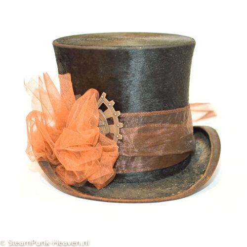 Steampunk hoed Florentine