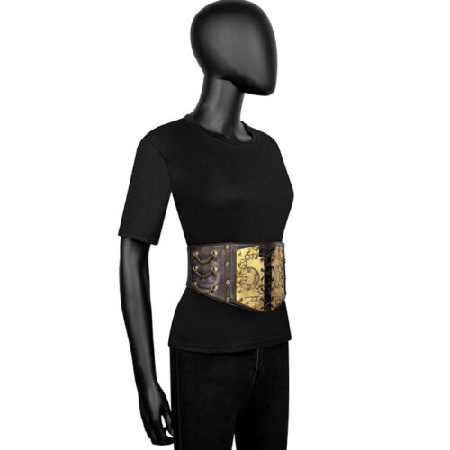 Steampunk stretch riem Pippa