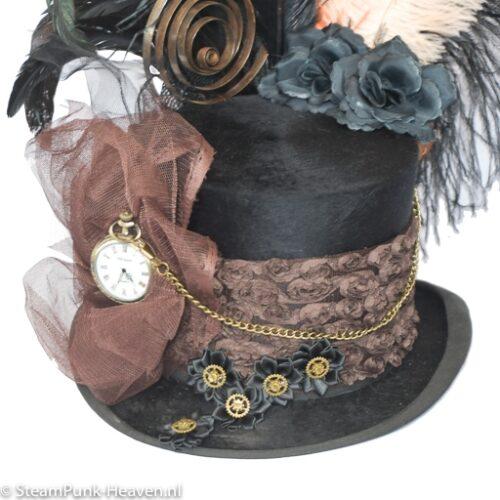 Steampunk hoed Amelia