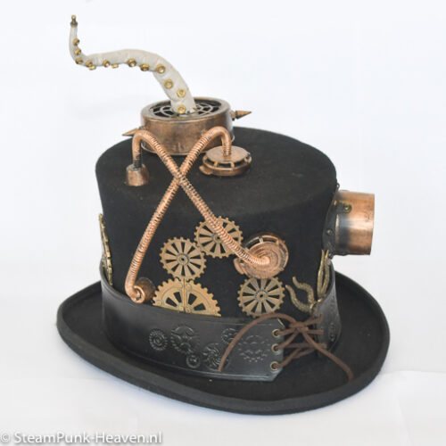 Steampunk hoed Dave