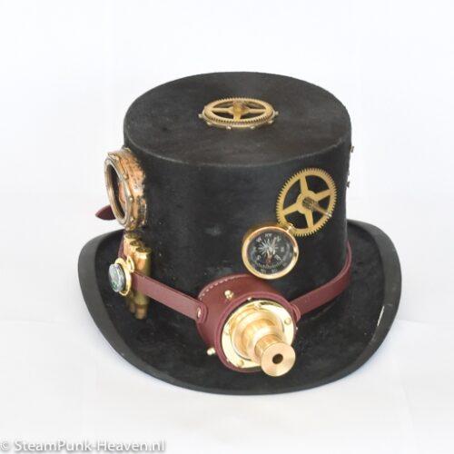 Steampunk hoed Viggo