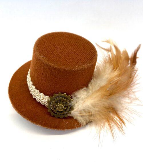 Steampunk mini hoed Valdis