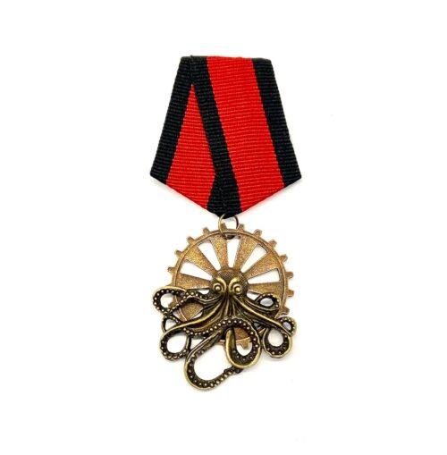 Steampunk medaille Walter Wellmann