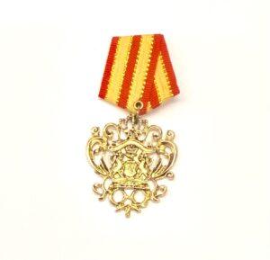 Steampunk medaille Étienne Montgolfier