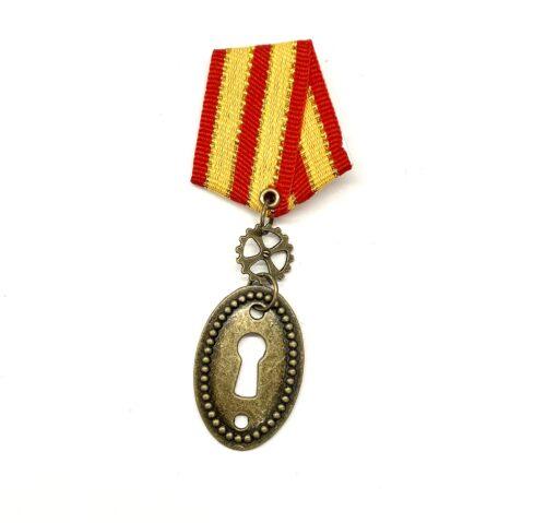 Steampunk medaille Madeleine Sophie Armant
