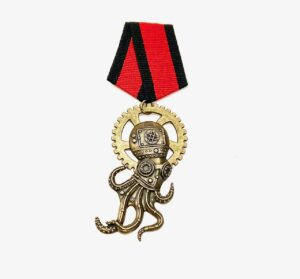 Steampunk medaille Hugo Eckener